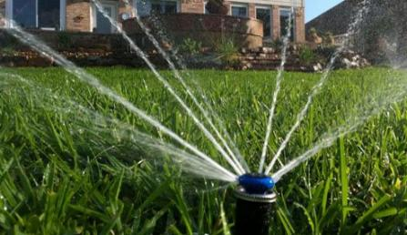 a Galena Park sprinkler installation done by our pros